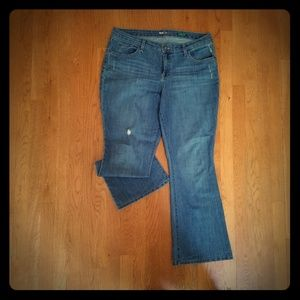 Style and Co. Distressed Jeans
